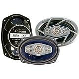 Absolute USA ADS-698 500-Watt 6-Inch X 9-Inch 8-Way Dynamic Series Car Speakers (Pair)