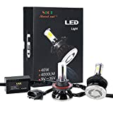 Street Cat® LED Headlight Bulbs Conversion Kit All-in-one -H13 (9008)- 40W 4000LM (x2) 6000K Daylight with Rainproof Driver