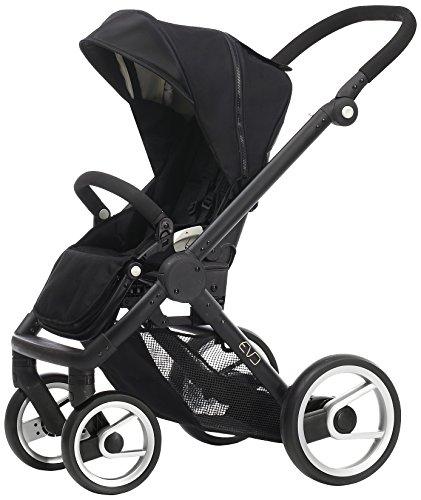 Mutsy Evo Stroller with Black Frame, Black