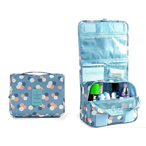 Pixnor Premium Travel Pouch organizzatore lavare borsa Make Up caso Cosmetic borsa da toilette Cosmetici borsa