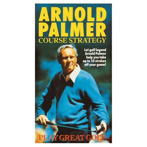 Amazon.com: Arnold Palmer Play Great Golf: Course Strategy [VHS