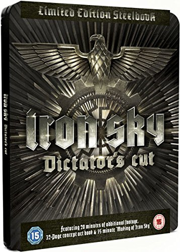 Iron Sky Dictators Cut Blu-ray Steelbook (Limited Edition) Region Free (Iron Sky Blu Ray compare prices)