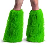 Funky Faux Fur Yeti Adult Boot Sleeves – COLOR Choices by Leather Factory Outlet