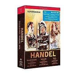 Handel: Giulio Cesare, Rinaldo, Saul [Blu-ray]