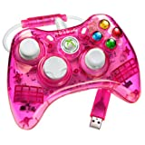 Control Rock Candy para Xbox 360 color rosa.