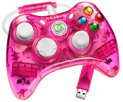 Rock Candy Xbox 360 Controller - Pink