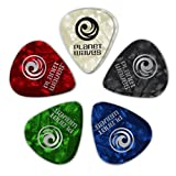 Planet Waves Assorted Pearl Celluloid Guitar Picks, 10 pack, Medium