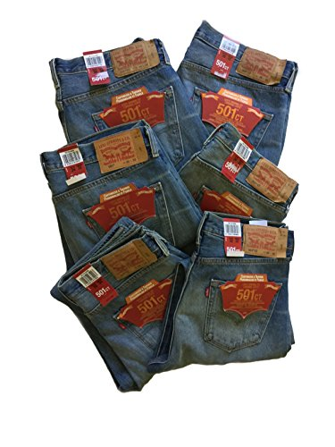 new-levis-501-customized-tapered-mens-button-fly-jeans-w-32-l-34