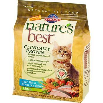 Image of Hill's Science Diet Nature's Best Kitten Ocean Fish & Brown Rice Dinner Dry Cat Food - 3-Pound Bag