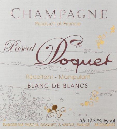 Nv Pascal Doquet Brut Blanc De Blancs, Champagne 750 Ml