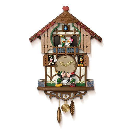 Disney Cuckoo Clock: Sweetheart Chalet by The Bradford Exchange