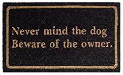 Mats Matter Never mind owner-Doormat(45 x 75 CM)