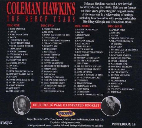 Coleman Hawkins Bebop Years