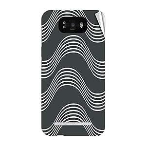 Garmor Designer Mobile Skin Sticker For Gionee P3 - Mobile Sticker