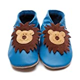 Inch Blue Leo Blue Baby Shoes, Soft shoes, Baby girl, 0-6 monthsby Inch Blue