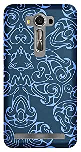 Wow Premium Design Back Cover Case For Asus Zenfone 2 Laser ZE550KL