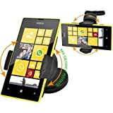 Fm Online 360 Degree Windscreen Car Mount Suction Holder Cradle Dasboard Holder For Nokia Lumia 520