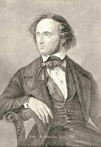 """Felix Mendelssohn Bartholdy"" Print (Canvas Giclee 12x18)"