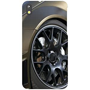 HTC Desire 816G Back Cover - What A Wheel Designer Cases