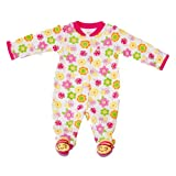 """Carter's Baby Girls' Bumble Bee """"I Love You"""" Footed Sleeper Sleep and Play 3 Months"""