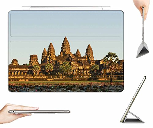 iRocket iPad Air Case + Transparent Back Cover, Angkor Wat World Temple, [Auto Wake/Sleep Function] (Angkor Wat Model compare prices)