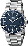 Oris 73376534155MB Watch TT1 Divers Date Mens - Blue Dial Stainless Steel Case Automatic Movement