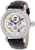 Stuhrling Original Men's 150A.33152 Symphony Maestro II Automatic Skeleton Date Black Leather Strap Watch from Stuhrling Original