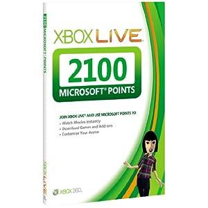 Xbox 360 2100 Microsoft Points (Xbox 360)