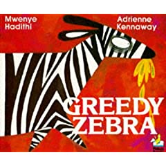 Greedy Zebra (Picture Knight)