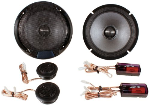 Alpine Spr-60C 6.5-Inch 2 Way Pair Of Component Car Speaker System
