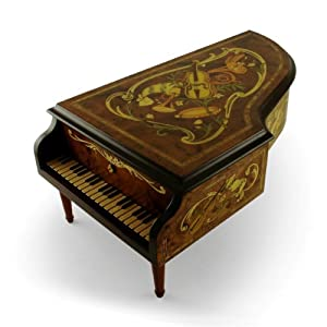 Interchangeable 50 Note REUGE Grand Piano - Titled