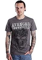 Avenged Sevenfold Skull Grey T-Shirt