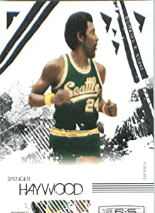 2009 /10 Leaf Rookies & Stars Basketball Card # 111 Spencer Haywood Seattle Supersonics Mint Condition - Shipped