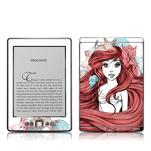 Under The Sea Design Protective Decal Skin Sticker - High Gloss Coating For Amazon Kindle 4 (5-Way Controller - 4Th Gen / Release In Oct 2010)