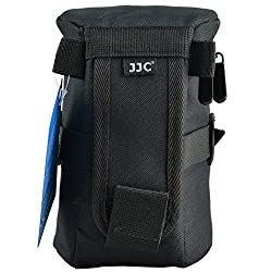 JJC DLP-4 Deluxe Lens Pouch for TAMRON SP 70-300mm F/4-5.6 Di VC USD MODEL:A005NII NIKON AF-S NIKKOR 24-120mm F/4G ED VR / SIGMA / BOWER CANON ZOOM LENS EF 24-70mm 1:2.8L II USM /SIGMA/BOWER
