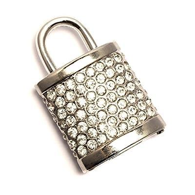 Pechon Sparkly Padlock USB Memory Stick - Flash Drive/School/Novelty/Gift