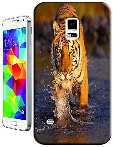LKPOP Cases / Covers Tiger Hard Back Protective Beautiful Nice Cute Animal Hot Selling Cell Phone Cases For Samsung Galaxy S5 i9600 Style 18
