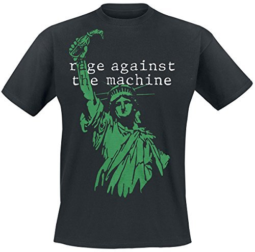 Rage Against The Machine Black Liberty T-Shirt nero XXL