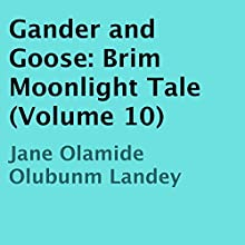 Gander and Goose: Brim Moonlight Tale (Volume 10) (       UNABRIDGED) by Jane Olamide Olubunm Landey Narrated by Richard Frances
