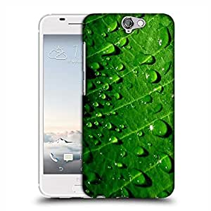 Snoogg Dew drops Designer Protective Back Case Cover For HTC one A9