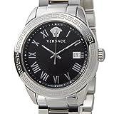 VERSACE ヴェルサーチ メンズ 腕時計 P6Q99GD008S099 クォーツ ブラック/シルバー [並行輸入品]