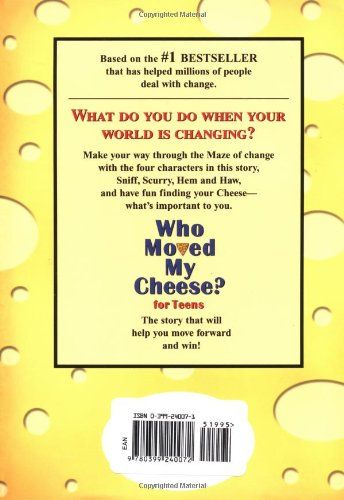 who moved my cheese book review The message of who moved my cheese is that all can come to see it as a blessing, if they free shipping over $10 buy a cheap copy of who moved my cheese book by spencer johnson.