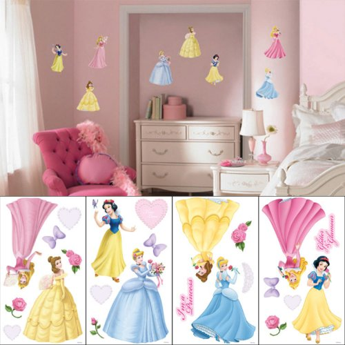 Disney Princess Self Stick Room Appliqué front-94503