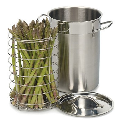 RSVP Stainless Steel Asparagus/Vegetables Steamer