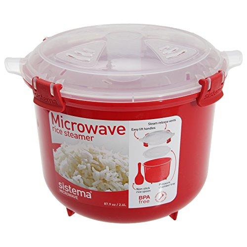 Sistema-Kunststoff-Reis-Dampfgarbehlter-Mikrowellengeschirr-Essensbehlter-940-ml