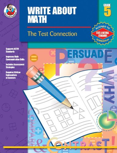 Write About Math, Grade 5: The Test Connection