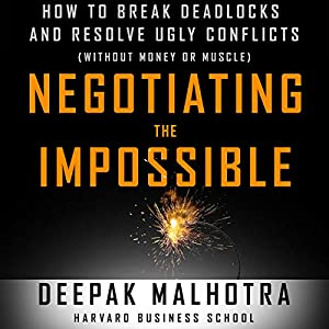 Negotiating the Impossible Audiobook