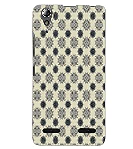 PrintDhaba Pattern D-5160 Back Case Cover for LENOVO A6000 PLUS (Multi-Coloured)