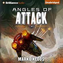 Angles of Attack: Frontlines, Book 3 Audiobook by Marko Kloos Narrated by Luke Daniels
