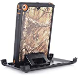 Ipad Mini 1 Case, Ipad Mini 2 Case, Ipad Mini 3 Case, Trees Camouflage Case Outdoors Best Choice Shockproof Dustproof...
